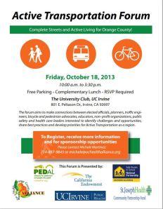 2013 Active Transportation Forum OC Invitation 10-18