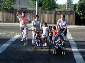 SRTSNP crosswalk family